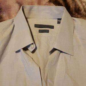 John varvatos dress shirt with French cuffs